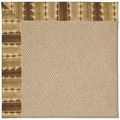 Capel Rugs Creative Concepts Cane Wicker - Java Journey Chestnut (750) Rectangle 7