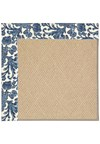 Capel Rugs Creative Concepts Cane Wicker - Batik Indigo (415) Rectangle 8' x 8' Area Rug