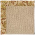 Capel Rugs Creative Concepts Cane Wicker - Cayo Vista Sand (710) Rectangle 8