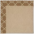 Capel Rugs Creative Concepts Cane Wicker - Arden Chocolate (746) Rectangle 8