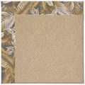 Capel Rugs Creative Concepts Cane Wicker - Bahamian Breeze Ocean (420) Rectangle 8