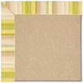 Capel Rugs Creative Concepts Cane Wicker - Kalani Coconut (615) Rectangle 8