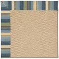 Capel Rugs Creative Concepts Cane Wicker - Kalani Ocean (417) Rectangle 9