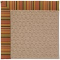Capel Rugs Creative Concepts Grassy Mountain - Tuscan Stripe Adobe (825) Octagon 4