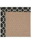 Capel Rugs Creative Concepts Grassy Mountain - Arden Black (346) Octagon 6' x 6' Area Rug