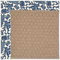 Capel Rugs Creative Concepts Grassy Mountain - Batik Indigo (415) Octagon 6