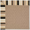 Capel Rugs Creative Concepts Grassy Mountain - Granite Stripe (335) Octagon 10