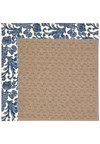 Capel Rugs Creative Concepts Grassy Mountain - Batik Indigo (415) Octagon 10' x 10' Area Rug