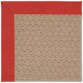 Capel Rugs Creative Concepts Grassy Mountain - Dupione Crimson (575) Octagon 10