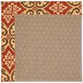 Capel Rugs Creative Concepts Grassy Mountain - Shoreham Brick (800) Octagon 10