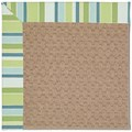 Capel Rugs Creative Concepts Grassy Mountain - Capri Stripe Breeze (430) Octagon 12