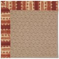 Capel Rugs Creative Concepts Grassy Mountain - Java Journey Henna (580) Rectangle 6