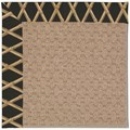 Capel Rugs Creative Concepts Grassy Mountain - Bamboo Coal (356) Rectangle 8