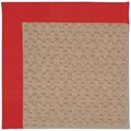 Capel Rugs Creative Concepts Grassy Mountain - Canvas Jockey Red (527) Rectangle 8