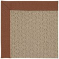 Capel Rugs Creative Concepts Grassy Mountain - Linen Chili (845) Rectangle 8