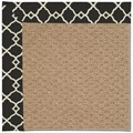 Capel Rugs Creative Concepts Raffia - Arden Black (346) Octagon 4