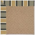 Capel Rugs Creative Concepts Raffia - Long Hill Ebony (340) Octagon 8