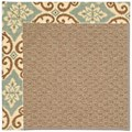Capel Rugs Creative Concepts Raffia - Shoreham Spray (410) Octagon 8