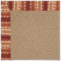 Capel Rugs Creative Concepts Raffia - Java Journey Henna (580) Octagon 8