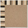 Capel Rugs Creative Concepts Raffia - Granite Stripe (335) Octagon 10