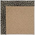 Capel Rugs Creative Concepts Raffia - Wild Thing Onyx (396) Octagon 10