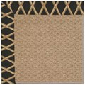 Capel Rugs Creative Concepts Raffia - Bamboo Coal (356) Runner 2
