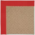 Capel Rugs Creative Concepts Raffia - Canvas Jockey Red (527) Runner 2
