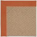 Capel Rugs Creative Concepts Raffia - Canvas Rust (837) Rectangle 3