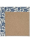 Capel Rugs Creative Concepts Raffia - Batik Indigo (415) Rectangle 5' x 8' Area Rug
