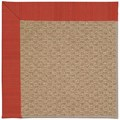 Capel Rugs Creative Concepts Raffia - Vierra Cherry (560) Rectangle 7