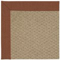 Capel Rugs Creative Concepts Raffia - Linen Chili (845) Rectangle 7