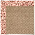 Capel Rugs Creative Concepts Raffia - Imogen Cherry (520) Rectangle 8