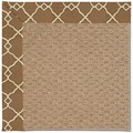 Capel Rugs Creative Concepts Raffia - Arden Chocolate (746) Rectangle 8