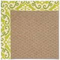 Capel Rugs Creative Concepts Raffia - Shoreham Kiwi (220) Rectangle 8