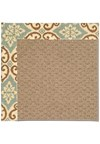 Capel Rugs Creative Concepts Raffia - Shoreham Spray (410) Rectangle 8' x 10' Area Rug