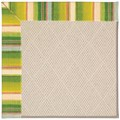 Capel Rugs Creative Concepts White Wicker - Kalani Fresco (239) Octagon 8