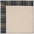 Capel Rugs Creative Concepts White Wicker - Vera Cruz Ocean (445) Octagon 10