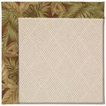 Capel Rugs Creative Concepts White Wicker - Bahamian Breeze Cinnamon (875) Octagon 10
