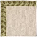 Capel Rugs Creative Concepts White Wicker - Dream Weaver Marsh (211) Octagon 12