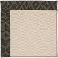 Capel Rugs Creative Concepts White Wicker - Fortune Lava (394) Octagon 12