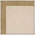 Capel Rugs Creative Concepts White Wicker - Tampico Rattan (716) Octagon 12