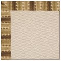 Capel Rugs Creative Concepts White Wicker - Java Journey Chestnut (750) Runner 2