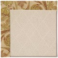 Capel Rugs Creative Concepts White Wicker - Cayo Vista Sand (710) Runner 2