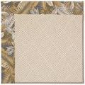 Capel Rugs Creative Concepts White Wicker - Bahamian Breeze Ocean (420) Rectangle 3