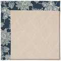 Capel Rugs Creative Concepts White Wicker - Bandana Indigo (465) Rectangle 3