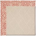 Capel Rugs Creative Concepts White Wicker - Imogen Cherry (520) Rectangle 3
