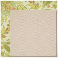 Capel Rugs Creative Concepts White Wicker - Cayo Vista Mojito (215) Rectangle 5