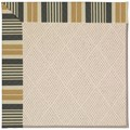 Capel Rugs Creative Concepts White Wicker - Long Hill Ebony (340) Rectangle 6
