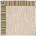Capel Rugs Creative Concepts White Wicker - Dorsett Autumn (714) Rectangle 7