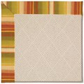 Capel Rugs Creative Concepts White Wicker - Kalani Samba (224) Rectangle 8